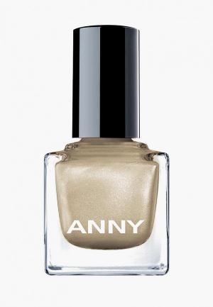 Лак для ногтей Anny тон 455.10 мерцающий золотой. Цвет: золотой
