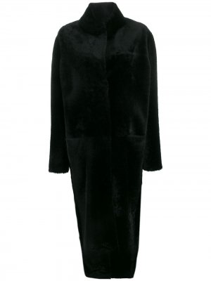 Пальто оверсайз Liska. Цвет: черный