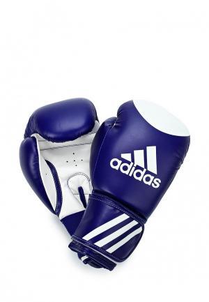 Перчатки боксерские adidas Combat Ultima Target WACO. Цвет: синий