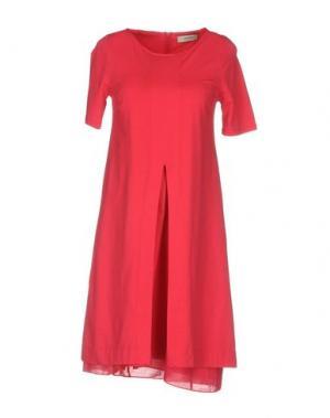 Короткое платье ALPHA STUDIO. Цвет: коралловый