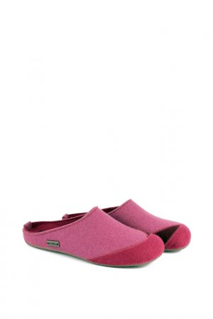 Тапочки Haflinger. Цвет: розовый