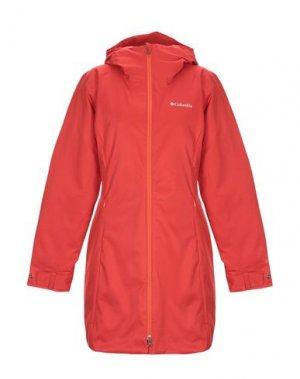 Куртка COLUMBIA. Цвет: оранжевый