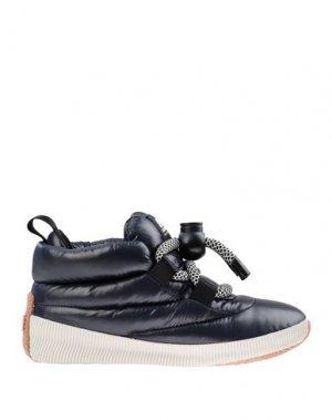 Высокие кеды и кроссовки SOREL. Цвет: темно-синий