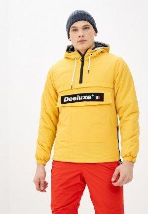 Куртка утепленная Deeluxe. Цвет: желтый