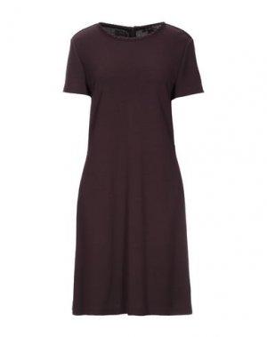 Короткое платье ST. JOHN. Цвет: баклажанный