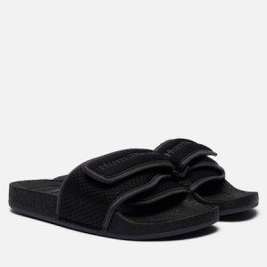 Сланцы x Pharrell Williams Chancletas HU adidas Originals. Цвет: чёрный