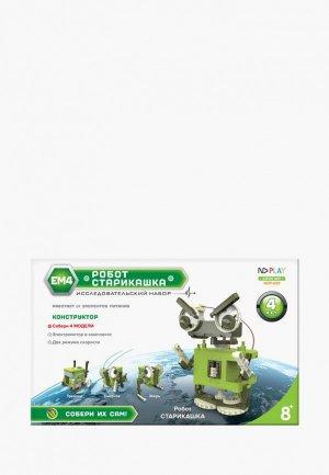 Конструктор ND Play Робот-старикашка 4 в 1. Цвет: зеленый