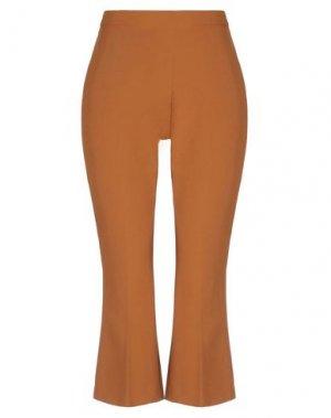 Повседневные брюки HANITA. Цвет: верблюжий