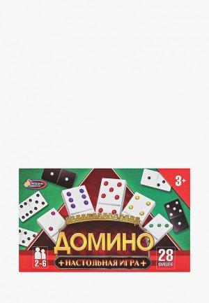 Игрушка Играем Вместе Домино. Цвет: разноцветный