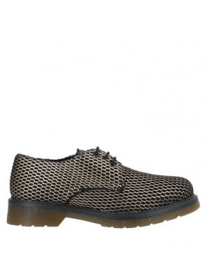 Обувь на шнурках NEVER EVER. Цвет: черный