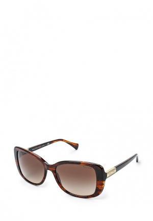 Очки солнцезащитные Ralph Lauren RA5223 162513. Цвет: коричневый