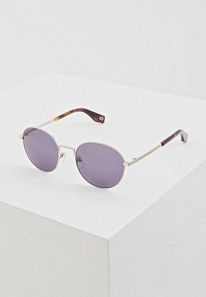 Очки солнцезащитные Marc Jacobs 272/S KB7. Цвет: серебряный