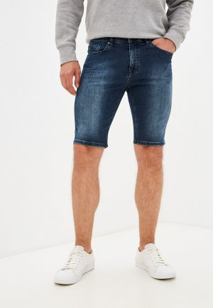 Шорты джинсовые Boss. Цвет: синий