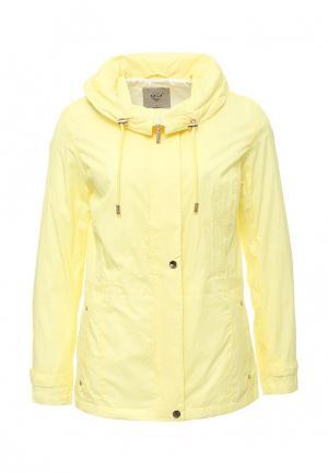 Куртка Sela. Цвет: желтый