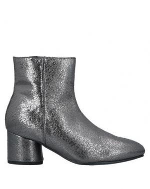 Полусапоги и высокие ботинки GIOSEPPO. Цвет: свинцово-серый