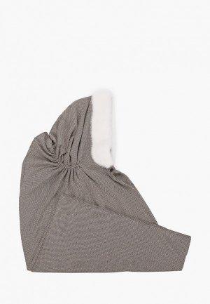 Капор Mex-Style. Цвет: серый