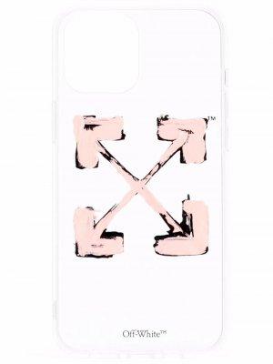Чехол для iPhone 12 Pro Max с логотипом Arrows Off-White. Цвет: нейтральные цвета
