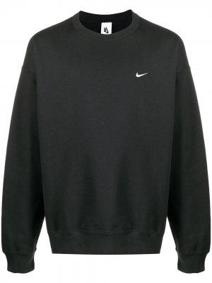 Толстовка NRG Crew Fleece Nike. Цвет: черный
