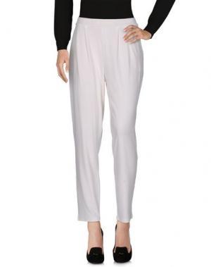 Повседневные брюки B.YU. Цвет: белый