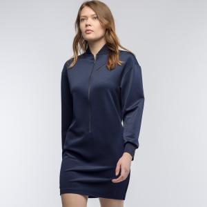 Платье Lacoste. Цвет: темно-синий