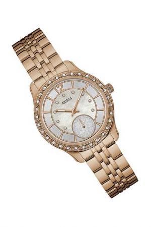 Наручные часы Guess. Цвет: розовый