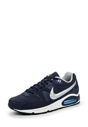 Кроссовки Nike Mens Air Max Command Leather Shoe. Цвет: синий