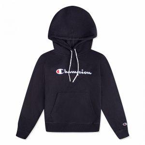 Hooded Sweatshirt Champion. Цвет: черный