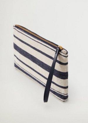 Текстильная косметичка из хлопка - Grant Mango. Цвет: темно-синий