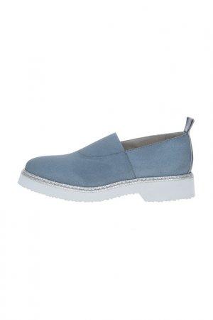 Туфли закрытые Fru.it. Цвет: синий