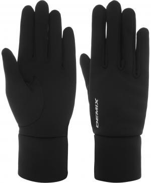 Перчатки , размер 9 Demix. Цвет: черный