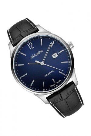 Наручные часы Adriatica. Цвет: черный