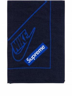 Бандана из коллаборации с Nike Supreme. Цвет: черный