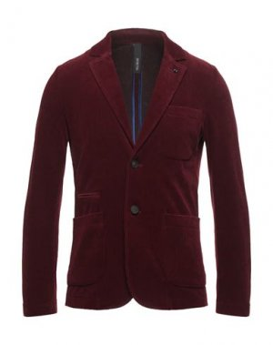 Пиджак DISTRETTO 12. Цвет: красно-коричневый