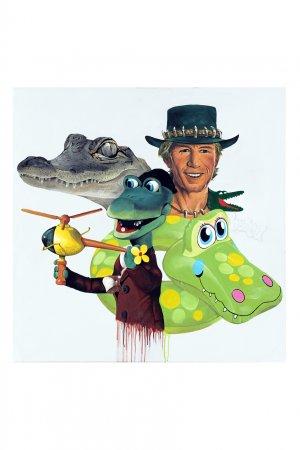Картина «Крокодилы» из серии «Единство непохожих», 2015-2020 Evgeny Ches. Цвет: multicolor