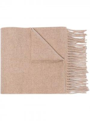 Длинный шарф Totême. Цвет: нейтральные цвета