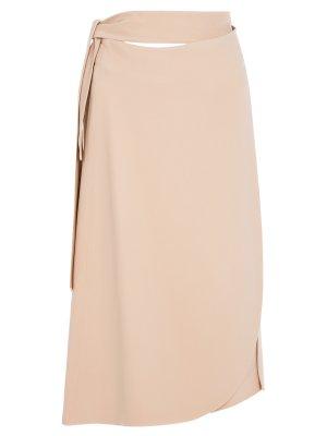 Шелковая юбка-миди CELINE