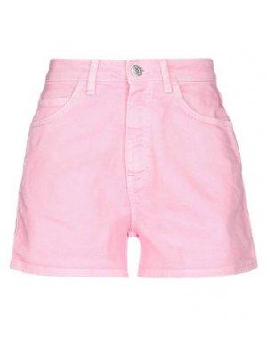 Джинсовые шорты HAIKURE. Цвет: розовый
