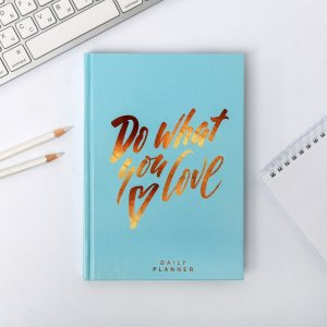 Ежедневник do what you love а5, 160 листов ArtFox