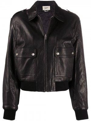Куртка-бомбер Isabel Marant Étoile. Цвет: черный
