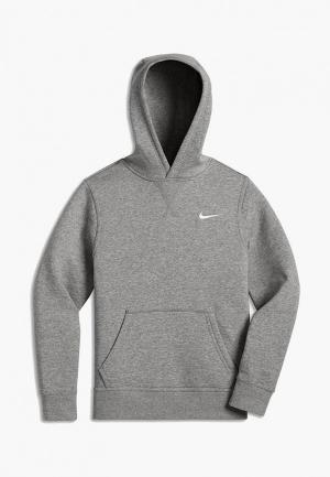Худи Nike B NK HOODIE YA76 BF OTH. Цвет: серый