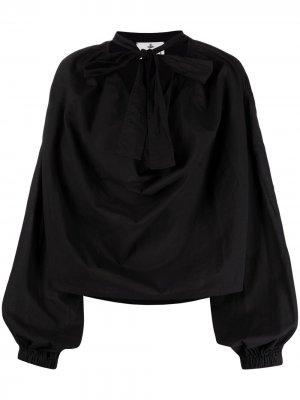Блузка Garret с бантом Vivienne Westwood. Цвет: черный