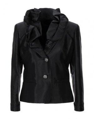 Пиджак BOTONDI COUTURE. Цвет: черный