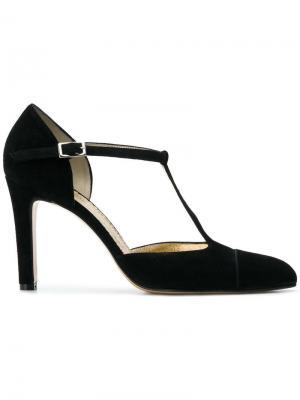 Туфли с ремешком Antonio Barbato. Цвет: черный