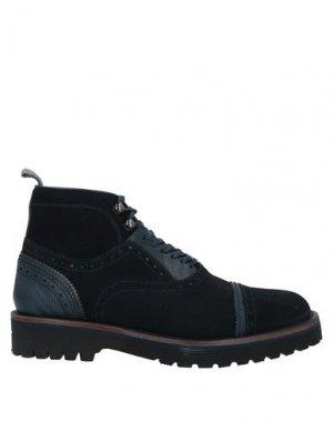 Полусапоги и высокие ботинки BRIMARTS. Цвет: темно-синий