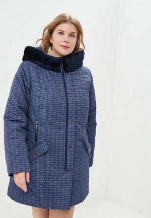 Куртка утепленная Wiko. Цвет: синий