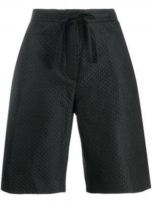 Стеганые шорты Christian Dior. Цвет: черный