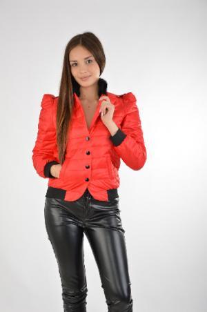 Куртка Joe Suis. Цвет: красный