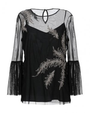 Блузка ELIE TAHARI. Цвет: черный