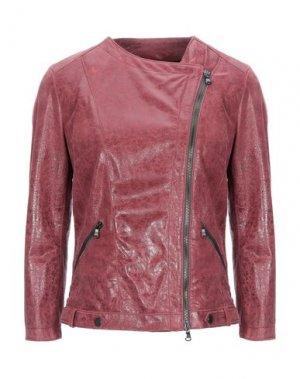 Куртка DACUTE. Цвет: пурпурный