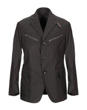 Пиджак MONTECORE. Цвет: темно-коричневый